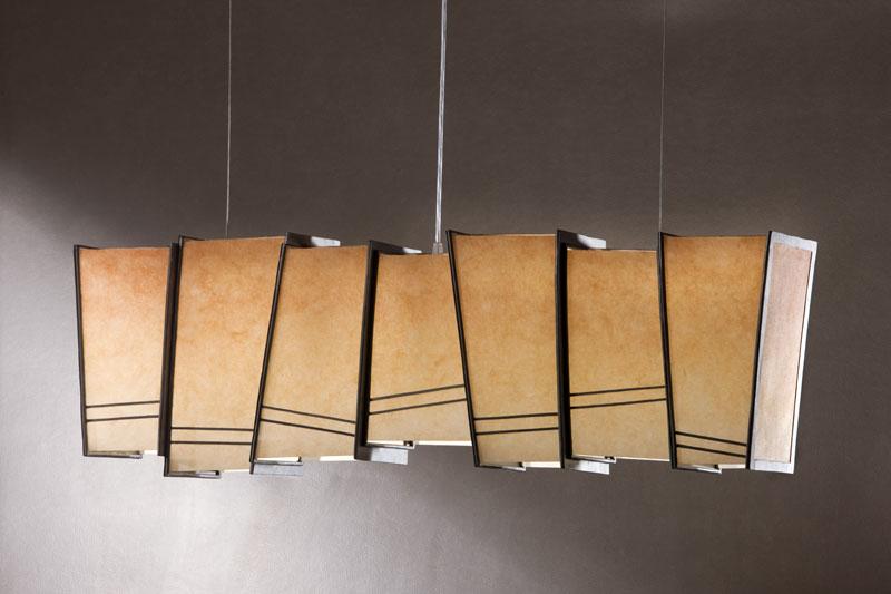 Grote hanglamp Midsummer in June Seven lichtobjecten grote hanglampen