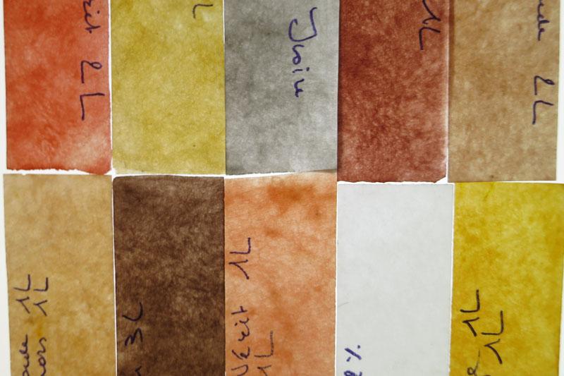 Kleuren kiezen samenstellen van een nieuw kleurengamma - Het kiezen van kleuren voor een kamer ...